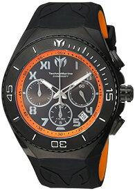テクノマリーン 腕時計 メンズ Technomarine Men's Manta Stainless Steel Quartz Watch with Silicone Strap, Black, 31 (Model: TM-215072)テクノマリーン 腕時計 メンズ