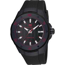 テクノマリーン 腕時計 メンズ Technomarine Men's TM-215088 Manta Analog Display Automatic Self Wind Black Watchテクノマリーン 腕時計 メンズ
