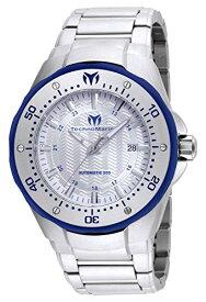テクノマリーン 腕時計 メンズ Technomarine Men's Manta Automatic-self-Wind Watch with Stainless-Steel Strap, Silver, 28 (Model: TM-215092)テクノマリーン 腕時計 メンズ