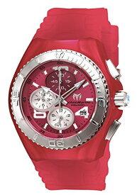 テクノマリーン 腕時計 レディース Technomarine Women's Cruise Stainless Steel Quartz Watch with Silicone Strap, Pink, 25 (Model: TM-115107)テクノマリーン 腕時計 レディース