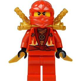 レゴ ニンジャゴー 【送料無料】LEGO? Ninjago: Kai Minifig (Red Ninja) with Two Gold Swords - Limited Edition 2015レゴ ニンジャゴー