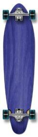 """ロングスケートボード スケボー 海外モデル 直輸入 01061K-Blue-40"""" 【送料無料】YOCAHER New Complete Longboard KICKTAIL 70's Shape Skateboard w/ 71mm Wheels, Blueロングスケートボード スケボー 海外モデル 直輸入 01061K-Blue-40"""""""
