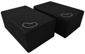 ヨガブロック フィットネス 【送料無料】Bean Products Yoga Blocks - 2 Pack, Black, Large - 4x6x9ヨガブロック フィットネス