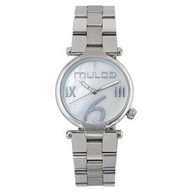 腕時計 マルコ レディース 【送料無料】Mulco Mini Metal Quartz Slim Analog Women's Watch | Premium Mother of Pearl Sundial Display Modern Classics Accents | Steel Watch Band | Water Resistant Stainless Steel Watch | MW5-5腕時計 マルコ レディース