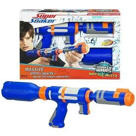 ナーフ 水鉄砲 アメリカ 直輸入 スーパーソーカー NERF Super Soaker: Soaker Wars Bottle Blitz (Blue) [Toy]ナーフ 水鉄砲 アメリカ 直輸入 スーパーソーカー