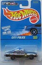 ホットウィール マテル ミニカー ホットウイール 【送料無料】Hot Wheels City Police 1997 #622ホットウィール マテル ミニカー ホットウイール