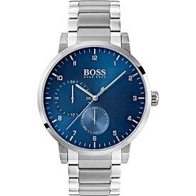 腕時計 ヒューゴボス 高級メンズ 【送料無料】BOSS Men's Oxygen Quartz Stainless Steel and Bracelet Casual Watch, Color: Silver (Model: 1513597)腕時計 ヒューゴボス 高級メンズ