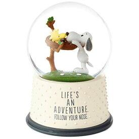 スノーグローブ 雪 置物 インテリア 海外モデル HMK Hallmark Peanuts Life's an Adventure Snow Globeスノーグローブ 雪 置物 インテリア 海外モデル