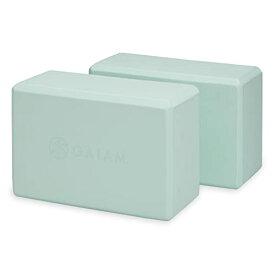 ヨガブロック フィットネス 05-61350 【送料無料】Gaiam Yoga Block - Supportive Latex-Free EVA Foam Soft Non-Slip Surface for Yoga, Pilates, Meditation, Storm Grayヨガブロック フィットネス 05-61350
