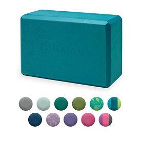 ヨガブロック フィットネス 05-59181 【送料無料】Gaiam Yoga Block - Supportive Latex-Free EVA Foam Soft Non-Slip Surface for Yoga, Pilates, Meditation, Blue Tealヨガブロック フィットネス 05-59181