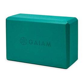 ヨガブロック フィットネス 05-61349 【送料無料】Gaiam Yoga Block - Supportive Latex-Free EVA Foam Soft Non-Slip Surface for Yoga, Pilates, Meditation, Lush Tealヨガブロック フィットネス 05-61349