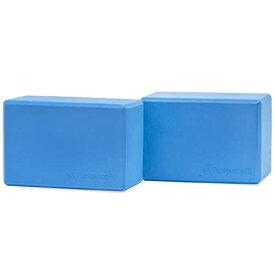 """ヨガブロック フィットネス ps-2401-blocks-blue 【送料無料】ProsourceFit Foam Yoga Blocks Set of 2, High Density EVA Yoga Bricks, Sturdy Yoga Prop Large Size 4""""x 6"""" x 9"""" (Blue)ヨガブロック フィットネス ps-2401-blocks-blue"""