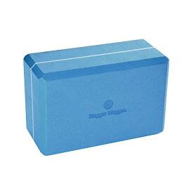 ヨガブロック フィットネス BL-FOAM-4-SKYBLUE 【送料無料】Hugger Mugger 4 in. Foam Yoga Block (Blue)ヨガブロック フィットネス BL-FOAM-4-SKYBLUE