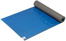 ヨガマット フィットネス 05-61681 【送料無料】Gaiam Sol Dry-Grip Yoga Mat, Blue, 5mmヨガマット フィットネス 05-61681