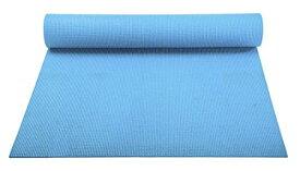 ヨガマット フィットネス 【送料無料】YogaAccessories 1/8'' Lightweight Classic Yoga Mat and Exercise Pad - Light Blueヨガマット フィットネス