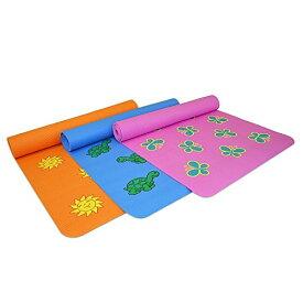 ヨガマット フィットネス A241MATBTFKD YogaDirect Fun Yoga Mat for Kids - Butterflyヨガマット フィットネス A241MATBTFKD