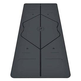 ヨガマット フィットネス 【送料無料】Liforme Original Yoga Mat - The World's Best Eco-Friendly, Non Slip Yoga Mat with The Original & Unique Alignment Marker System - Made with Natural Rubber - Biodegradable Yoga Mat - Grヨガマット フィットネス