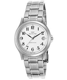腕時計 グリシン スイスウォッチ メンズ グライシン 【送料無料】Glycine 3690-14-Sap-Mb Men's Stainless Steel White Dial Black Hands Watch腕時計 グリシン スイスウォッチ メンズ グライシン