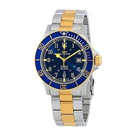 腕時計 グリシン スイスウォッチ メンズ グライシン 【送料無料】Glycine Combat Sub Blue Dial Two-Tone Men's Watch GL0081腕時計 グリシン スイスウォッチ メンズ グライシン