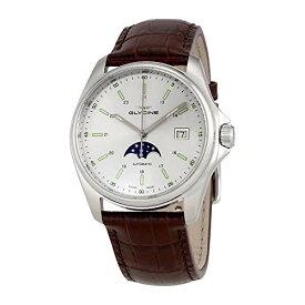 腕時計 グリシン スイスウォッチ メンズ グライシン 【送料無料】Glycine Combat 6 Classic Moonphase Automatic Silver Dial Men's Watch GL0115腕時計 グリシン スイスウォッチ メンズ グライシン
