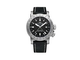 腕時計 グリシン スイスウォッチ メンズ グライシン 【送料無料】Glycine Airman Worldtimer GMT Automatic Black Dial Black Leather Men's Watch GL0056腕時計 グリシン スイスウォッチ メンズ グライシン