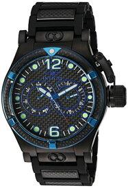 インヴィクタ インビクタ サブアクア 腕時計 メンズ Invicta Men's 'Corduba' Quartz Stainless Steel and Polyurethane Watch, Color:Black (Model: 80089)インヴィクタ インビクタ サブアクア 腕時計 メンズ