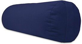 ヨガ フィットネス A242BOLBLU01 【送料無料】YogaAccessories Supportive Round Cotton Yoga Bolster - Blueヨガ フィットネス A242BOLBLU01