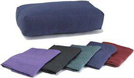 ヨガ フィットネス 【送料無料】YogaAccessories Cover for Rectangular Cotton Yoga Bolster - Cardinal Redヨガ フィットネス