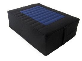 ヨガ フィットネス 【送料無料】Tibetan Seat Meditation Cushion - Black-Blueヨガ フィットネス