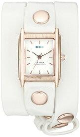 ラメールコレクションズ 腕時計 レディース WANDERLUST00200 La Mer Collections Wanderlust 00200 0.5mm Leather Synthetic White Watch Braceletラメールコレクションズ 腕時計 レディース WANDERLUST00200