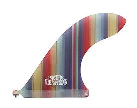 """サーフィン フィン マリンスポーツ Pacific Vibrations 9"""" FINS Lovebird Template Fiberglass Mexican Blanket Pattern Longboard Surfboardサーフィン フィン マリンスポーツ"""