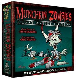 ボードゲーム 英語 アメリカ 海外ゲーム 【送料無料】Munchkin Zombies Guest Artist Edition Greg Hyland Board Gameボードゲーム 英語 アメリカ 海外ゲーム