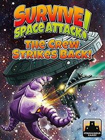 ボードゲーム 英語 アメリカ 海外ゲーム 【送料無料】Stronghold Games STG09004 Survive Space Attack The Crew Strikes Back Gameボードゲーム 英語 アメリカ 海外ゲーム