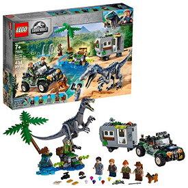 レゴ テクニックシリーズ 【送料無料】LEGO Jurassic World Baryonyx Face Off: The Treasure Hunt 75935 Building Kit (434 Pieces)レゴ テクニックシリーズ