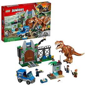 レゴ 【送料無料】LEGO Juniors/4+ Jurassic World T. rex Breakout 10758 Building Kit (150 Pieces)レゴ