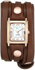 ラメールコレクションズ 腕時計 レディース LMLW3000 La Mer Collections Women's LMLW3000 Rose Gold Cognac Layer Wrap Watchラメールコレクションズ 腕時計 レディース LMLW3000