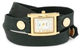 ラメールコレクションズ 腕時計 レディース LMSTW9007 La Mer Collections Women's LMSTW9007 Simple Wraps Emerald Simple Case Watchラメールコレクションズ 腕時計 レディース LMSTW9007