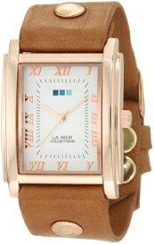 ラメールコレクションズ 腕時計 レディース LMHOZ5002 La Mer Collections Women's LMHOZ5002 Oversize Square Collection Sand Oversize Square Watchラメールコレクションズ 腕時計 レディース LMHOZ5002
