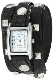 ラメールコレクションズ 腕時計 レディース LMLW1010B La Mer Collections Women's LMLW1010B Stainless Steel Watch with Leather Wrap-Around Bandsラメールコレクションズ 腕時計 レディース LMLW1010B