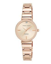 【即納】【送料無料】当店1年保証 アン・クライン Anne Klein レディース腕時計 AK/2434RGRG ローズゴールド ケース直径28mm