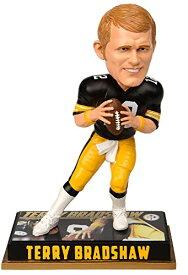 ボブルヘッド バブルヘッド 首振り人形 ボビンヘッド BOBBLEHEAD Forever Collectibles NFL Pittsburgh Steelers Mens Pittsburgh Steelers Bobblehead - 8 - Retired Player - Terry Bradshaw #12 - Speボブルヘッド バブルヘッド 首振り人形 ボビンヘッド BOBBLEHEAD