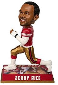 ボブルヘッド バブルヘッド 首振り人形 ボビンヘッド BOBBLEHEAD Forever Collectibles NFL San Francisco 49Ers Mens San Francisco 49ers Bobblehead - 8 - Retired Player - Jerry Rice #80 - Specialボブルヘッド バブルヘッド 首振り人形 ボビンヘッド BOBBLEHEAD