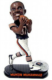 ボブルヘッド バブルヘッド 首振り人形 ボビンヘッド BOBBLEHEAD 【送料無料】Forever Collectibles NFL Chicago Bears Mens Chicago Bears Mussin Muhammad Black Base Bobblehead, Team Colors Oボブルヘッド バブルヘッド 首振り人形 ボビンヘッド BOBBLEHEAD