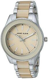 アンクライン 腕時計 レディース 【送料無料】Anne Klein Women's AK/3215TNSV Silver-Tone and Tan Resin Bracelet Watchアンクライン 腕時計 レディース