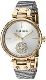 腕時計 アンクライン レディース 【送料無料】Anne Klein Women's AK/3001SVTT Swarovski Crystal Accented Two-Tone Mesh Bracelet Watch腕時計 アンクライン レディース