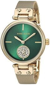 アンクライン 腕時計 レディース 【送料無料】Anne Klein Women's Quartz Metal and Stainless Steel Dress Watch, Color:Gold-Tonedアンクライン 腕時計 レディース