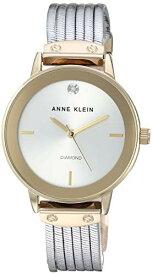アンクライン 腕時計 レディース 【送料無料】Anne Klein Women's AK/3221SVTT Diamond-Accented Two-Tone Bracelet Watchアンクライン 腕時計 レディース