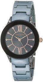 アンクライン 腕時計 レディース 【送料無料】Anne Klein Women's AK/2389GYLB Swarovski Crystal Accented Blue Ceramic Bracelet Watchアンクライン 腕時計 レディース