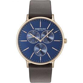 ケネスコール・ニューヨーク Kenneth Cole New York 腕時計 メンズ 【送料無料】Kenneth Cole New York Men's Sport' Quartz Stainless Steel and Leather Dress Watch, Color:Brown (Model: KC1ケネスコール・ニューヨーク Kenneth Cole New York 腕時計 メンズ