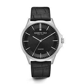 ケネスコール・ニューヨーク Kenneth Cole New York 腕時計 メンズ 【送料無料】Kenneth Cole New York Male Stainless Steel Analog-Quartz Watch with Black Strap, Leather, 22 (Model: KC502ケネスコール・ニューヨーク Kenneth Cole New York 腕時計 メンズ